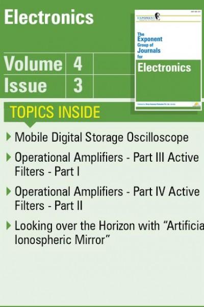 Electronics – Volume 4 – Issue 3