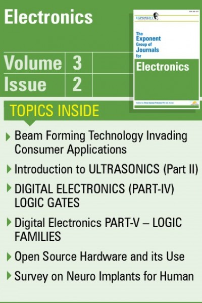 Electronics – Volume 3 – Issue 2