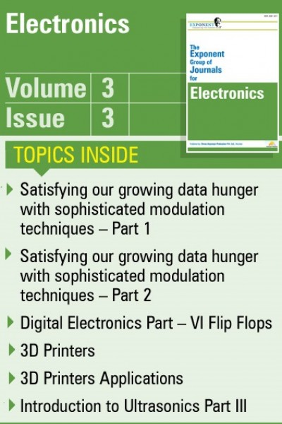 Electronics – Volume 3 – Issue 3