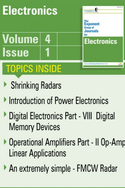 Electronics – Volume 4 – Issue 1