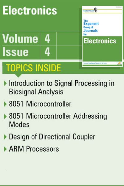 Electronics – Volume 4 – Issue 4